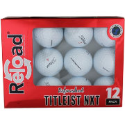 Refurbished Titleist NXT Tour Golf Balls