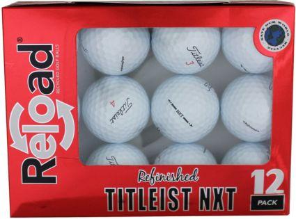 Refurbished Titleist NXT Tour Golf Balls