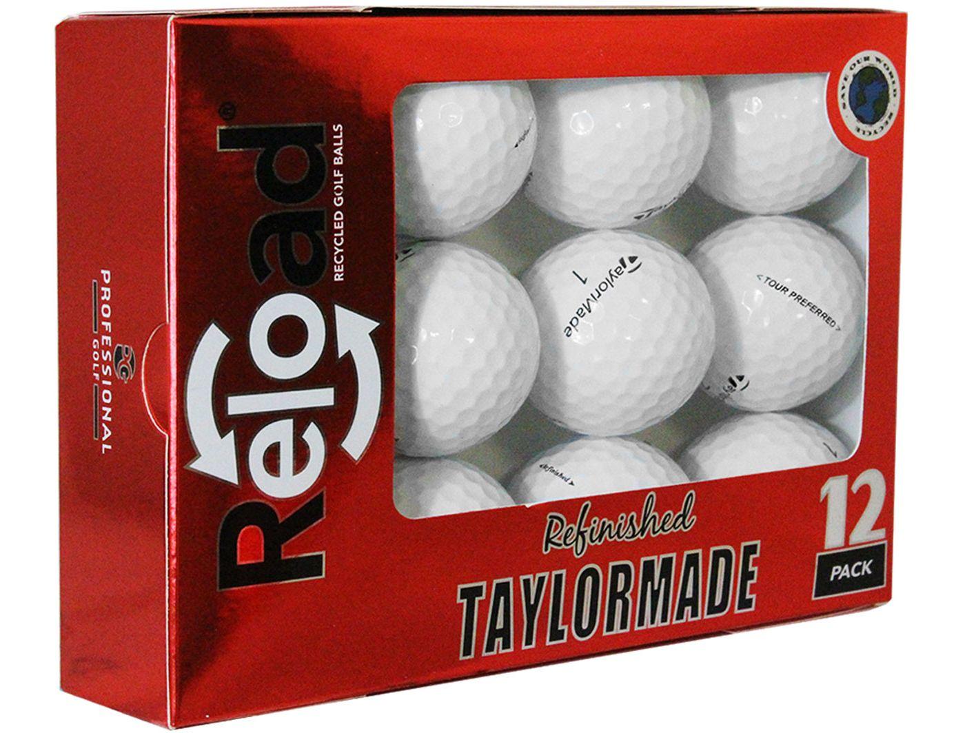 Refurbished TaylorMade Tour Preferred Golf Balls