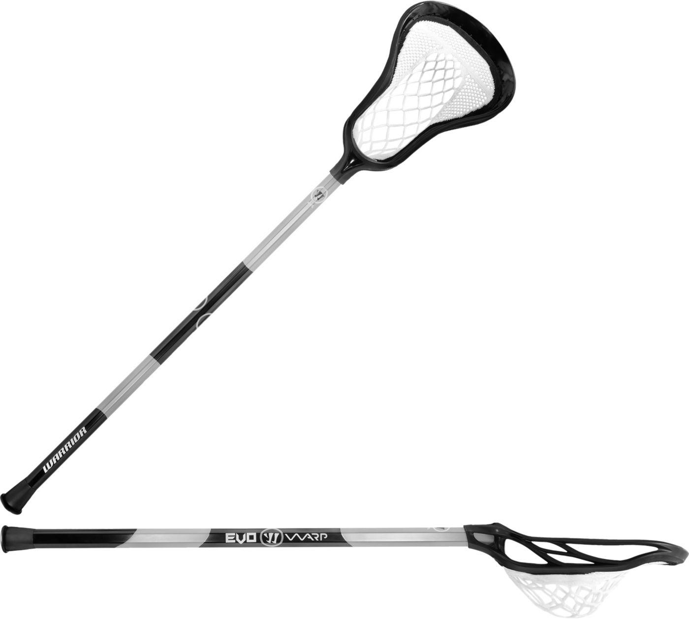 Warrior Evo Warp Junior 37'' Complete Attack Lacrosse Stick