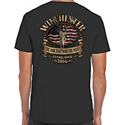 Winchester Men's Southern Rebel Skull T-Shirt