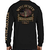 Winchester Men's Southern Rebel Skull Long Sleeve Shirt