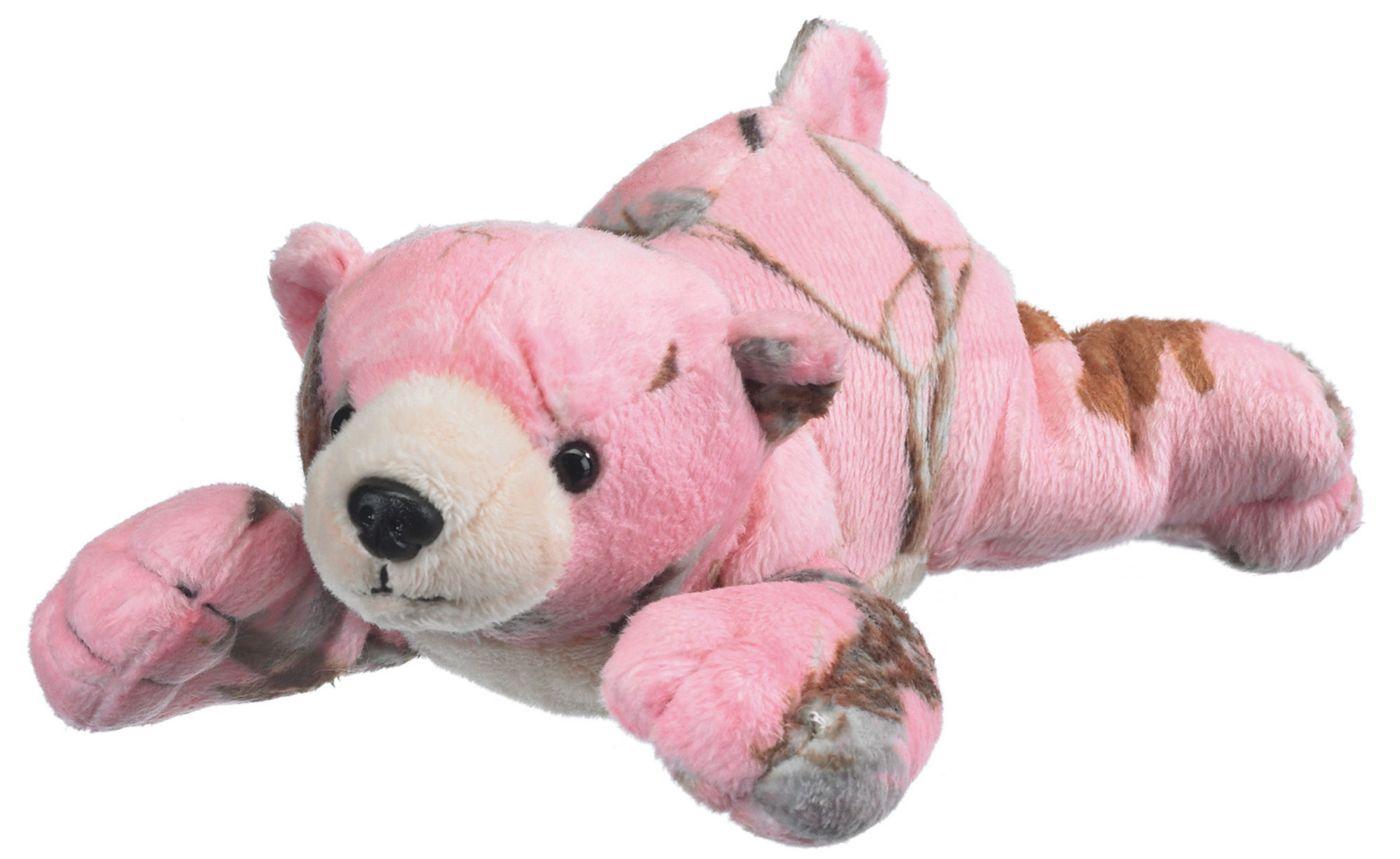 Wildlife Artists Realtree APC Pink Camo Bear Stuffed Animal
