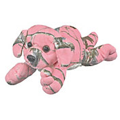 Wildlife Artists Realtree APC Pink Camo Labrador Stuffed Animal