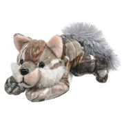 Wildlife Artists Realtree Camo Wolf Stuffed Animal