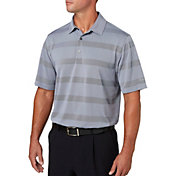 Walter Hagen Men's Departure Wide Stripe Golf Polo