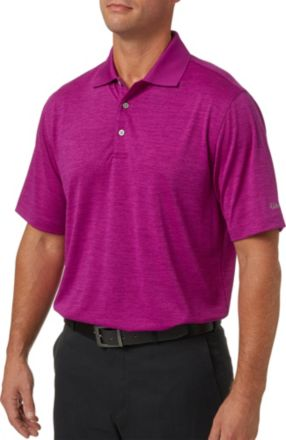 53086fcc6 Walter Hagen Men  39 s Core Space Dye Golf Polo