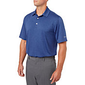 Walter Hagen Men's Stripe Golf Polo - Big & Tall