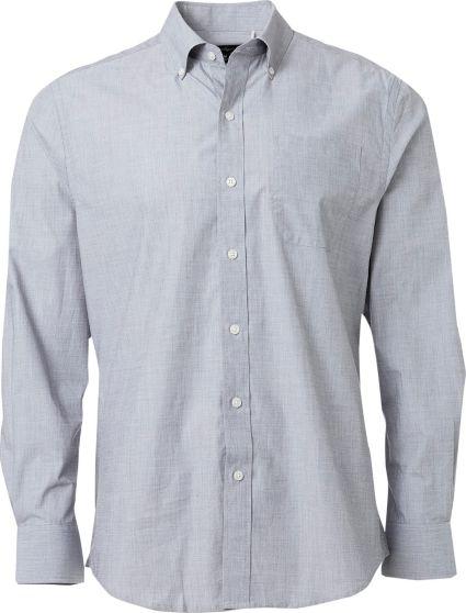 Walter Hagen End-On-End Long Sleeve Dress Shirt