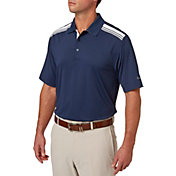 Walter Hagen Men's Solid Colorblock Golf Polo