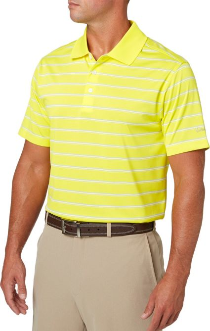 Walter Hagen Men's Essentials Wide Stripe Polo
