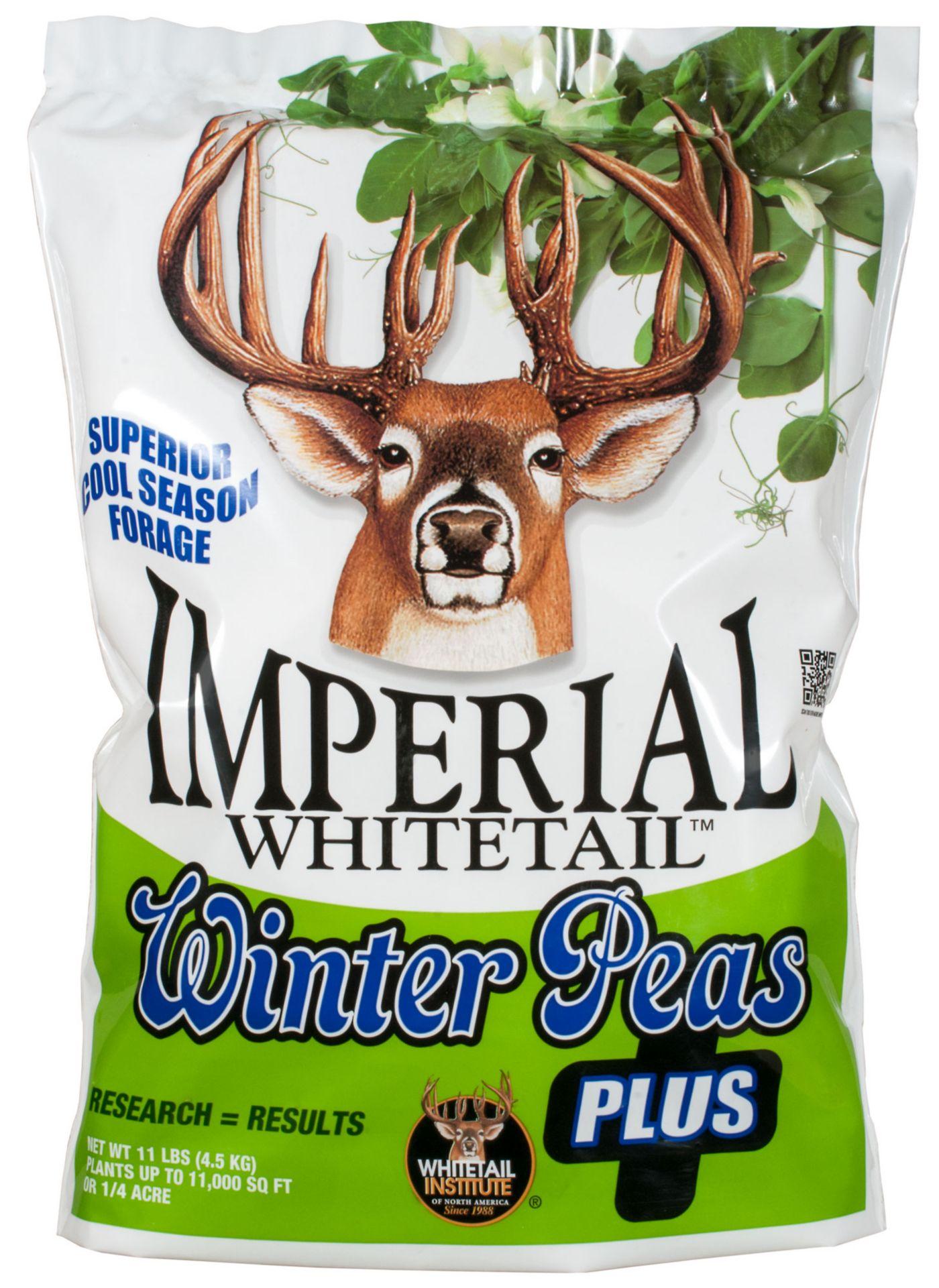 Whitetail Institute Imperial Whitetail Winter Peas Plus Food Plot