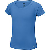 Wilson Girls' Core Cap Sleeve Tennis Shirt