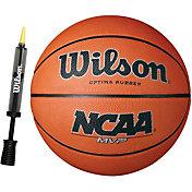 Wilson NCAA MVP Official Basketball w/ Pump (29.5'')