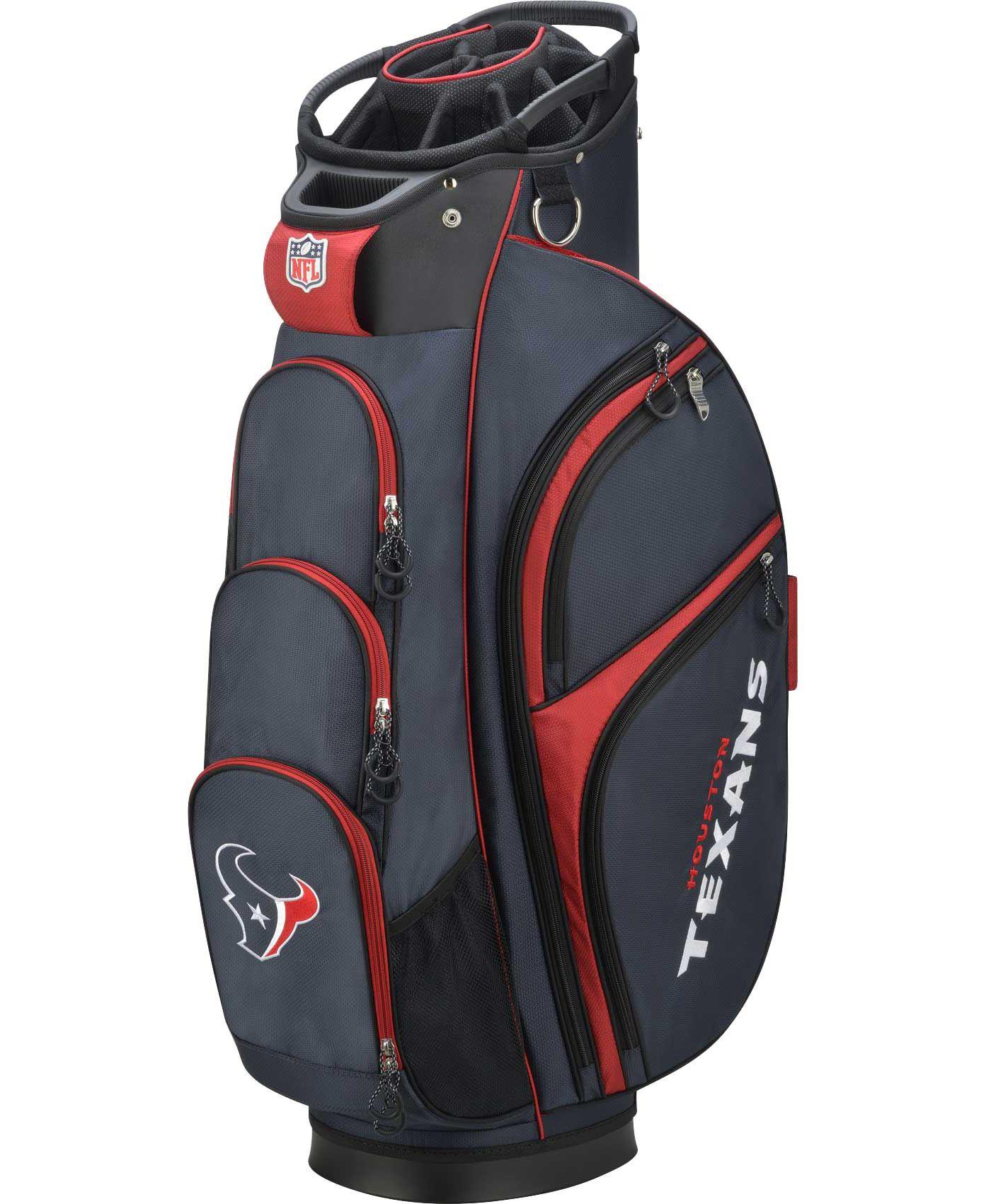 Wilson Houston Texans Cart Bag