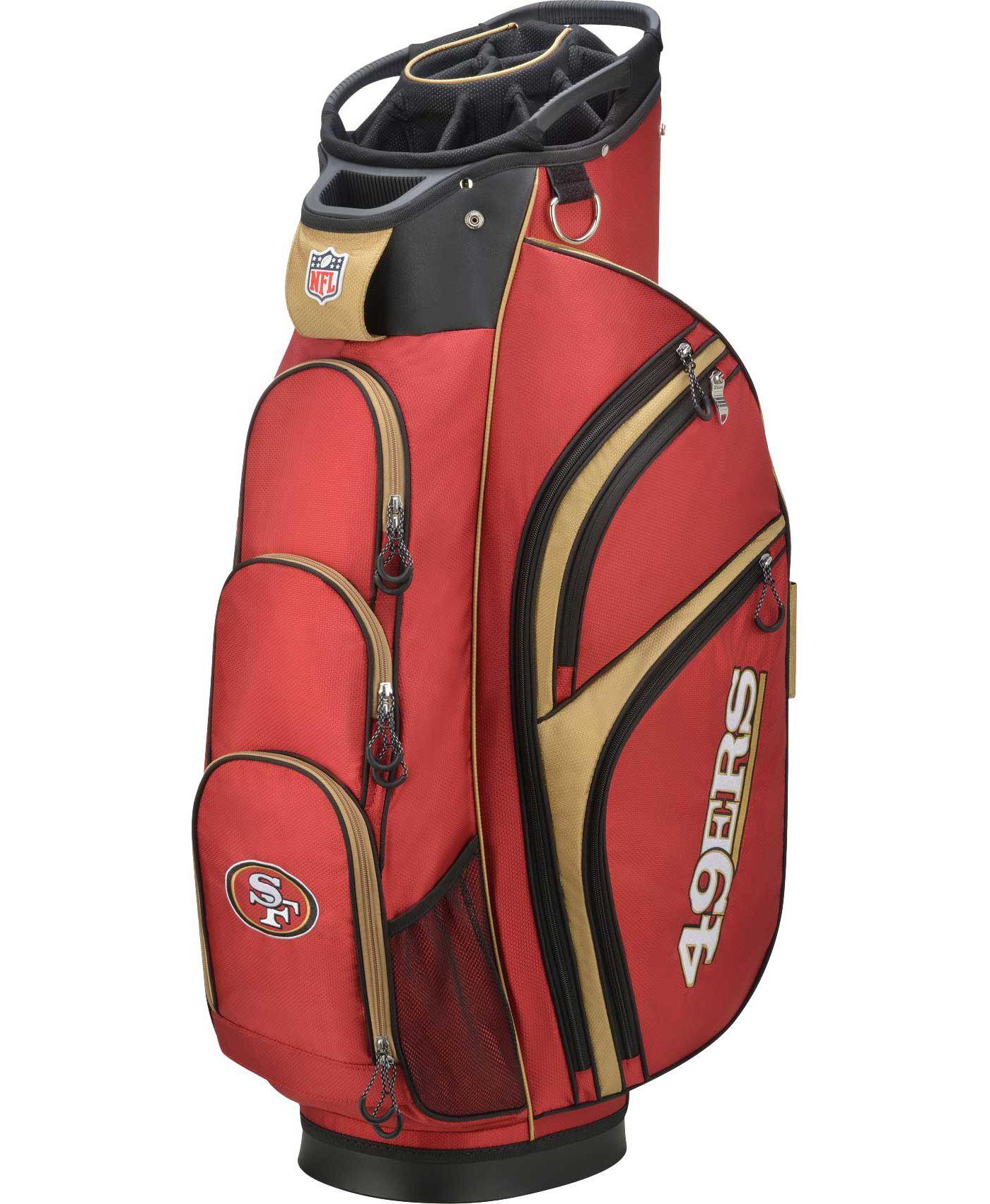 Wilson San Francisco 49ers Cart Bag