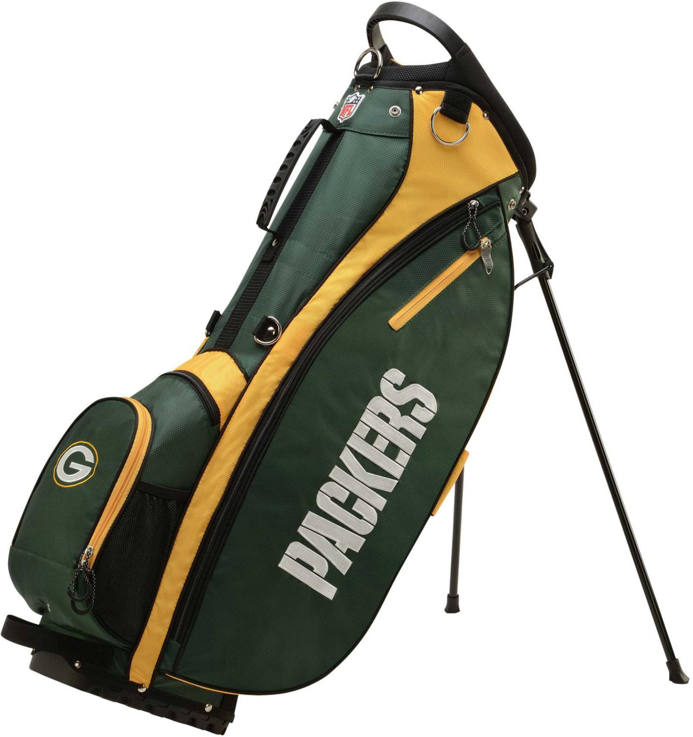 Wilson Green Bay Packers Stand Bag