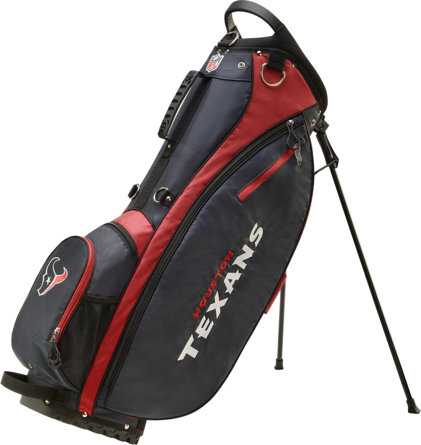 Wilson Houston Texans Stand Bag