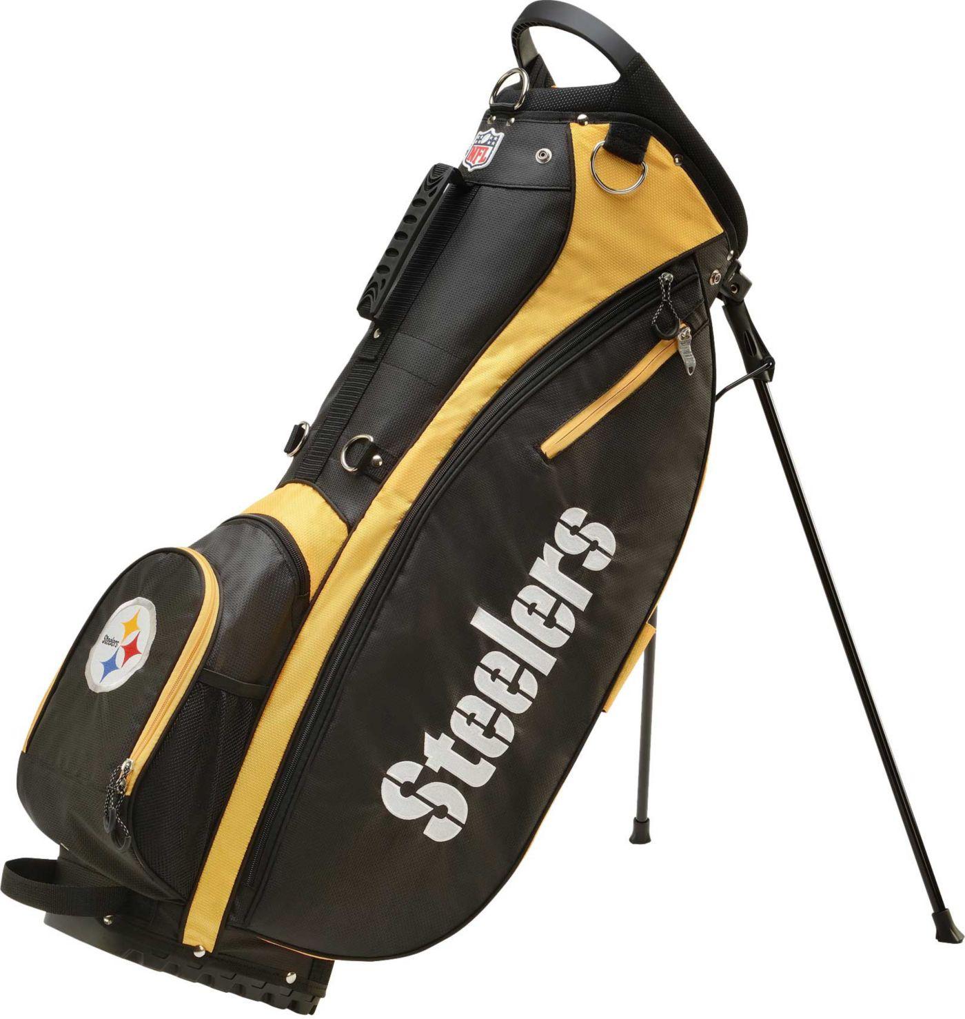 Wilson Pittsburgh Steelers Stand Bag