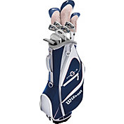Wilson Women's Profile XD 14-Piece Complete Set w/ Cart Bag – Navy/White