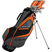 Wilson Profile XD Teen 14-Piece Complete Set – Grey/Orange