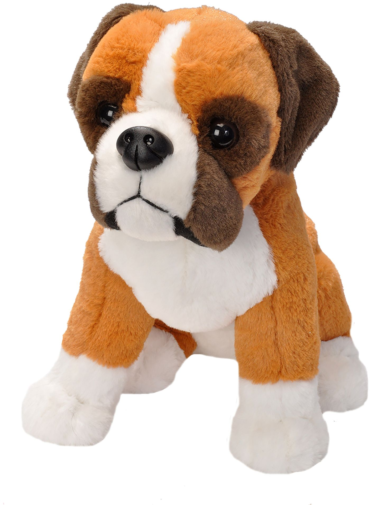Wild Republic Sitting Boxer Dog Stuffed Animal