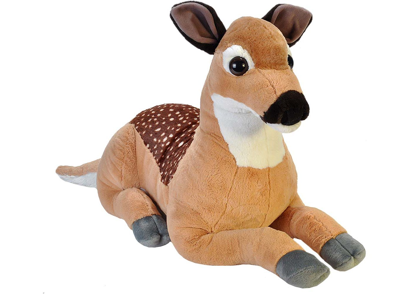 Wild Republic Jumbo Fawn Stuffed Animal