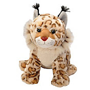 Wild Republic Bobcat Stuffed Animal