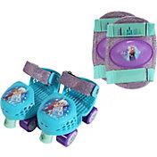 Playhweels Girls' Disney Frozen Roller Skates and Knee Pads