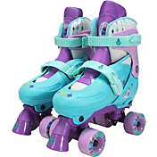 Playwheels Girls' Disney Frozen Quad Roller Skates