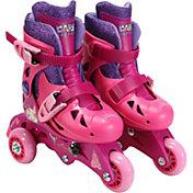 Playwheels Girls' Disney Princess 2-in-1 Inline Skates