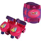 Playhweels Girls' Disney Princess Roller Skates and Knee Pads