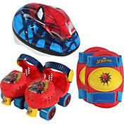 Playwheels Boys' Spider-Man Roller Skate Combo Set