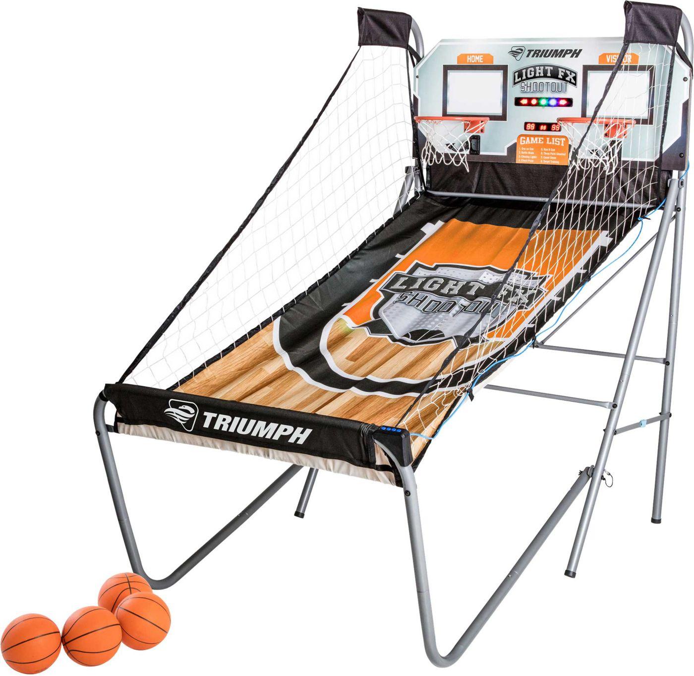 Triumph Light FX Double Shootout Arcade Basketball