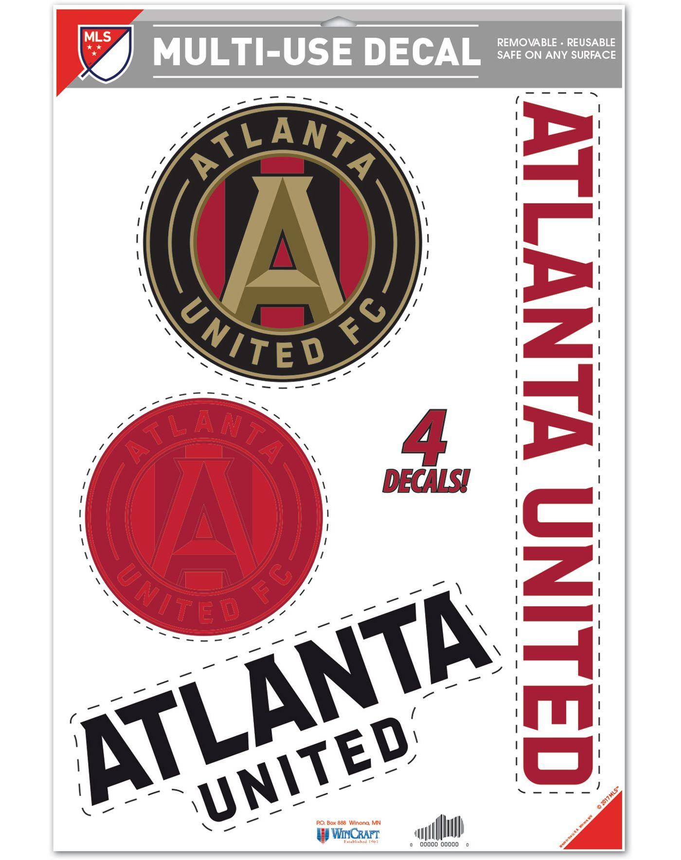 """WinCraft Atlanta United 11"""" x 17"""" Decal"""
