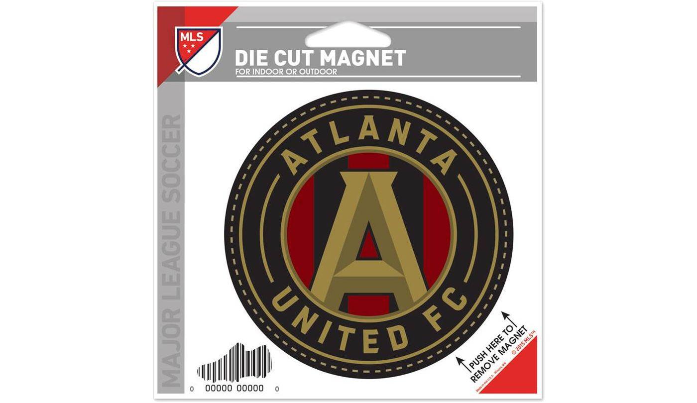 "WinCraft Atlanta United 5""x5"" Die-Cut Magnet"