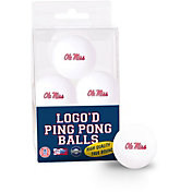 WinCraft Mississippi State Bulldogs Ping Pong Balls 6 Pack