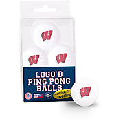 WinCraft Wisconsin Badgers Ping Pong Balls 6 Pack