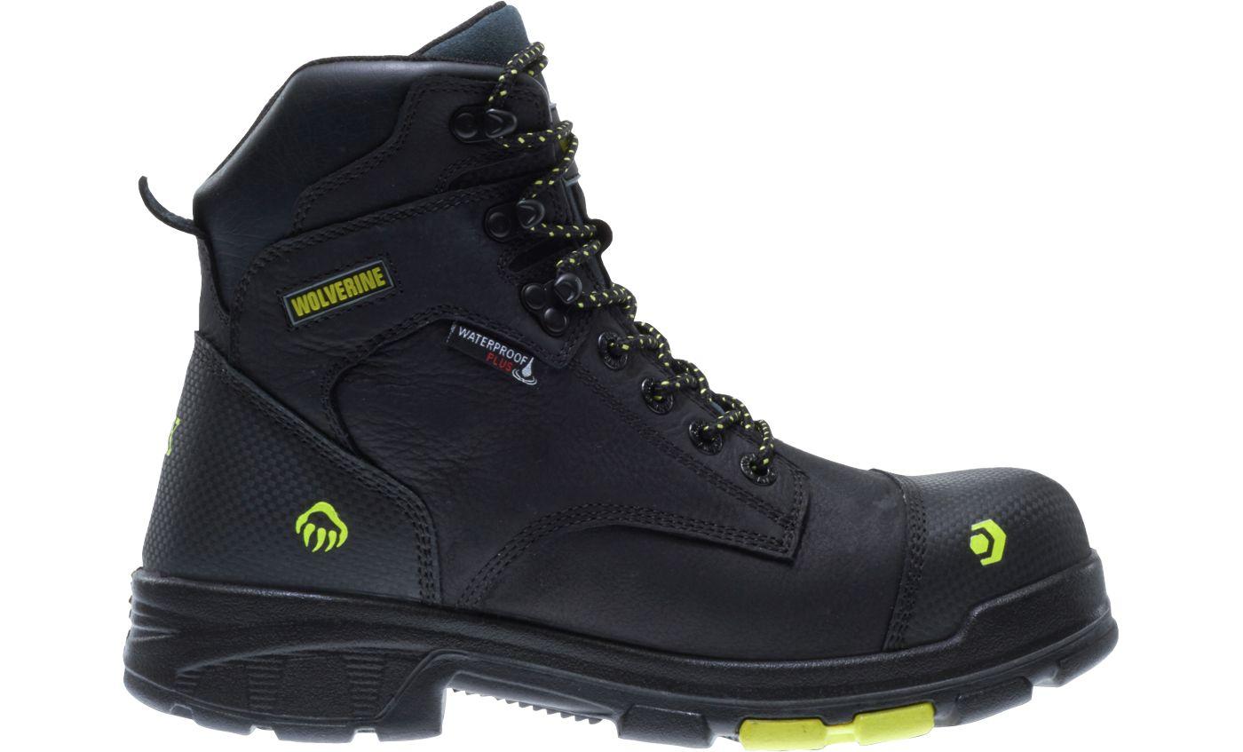 Wolverine Men's Blade LX 6'' Waterproof Composite Toe Work Boots