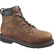 """Wolverine Men's Brek 6"""" Waterproof DuraShocks Steel Toe Work Boots"""
