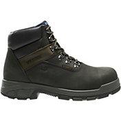 "Wolverine Men's Cabor 6"" Waterproof Composite Toe Work Boots"
