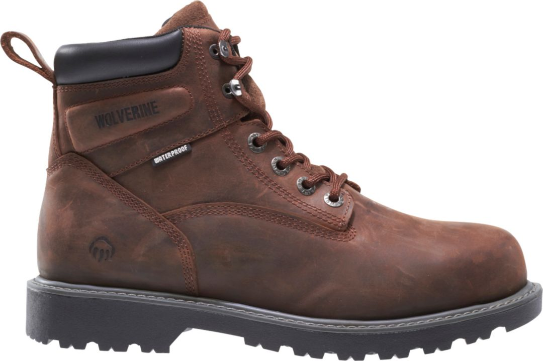 090844e0607 Wolverine Men's Floorhand 6'' Work Boots | DICK'S Sporting Goods
