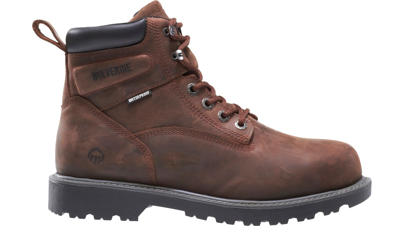 Wolverine Men's Floorhand 6'' Waterproof Work Boots