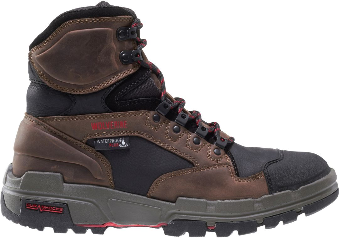 639d9d8d8b4 Wolverine Men's Legend 6'' DuraShocks Composite Toe Work Boots ...