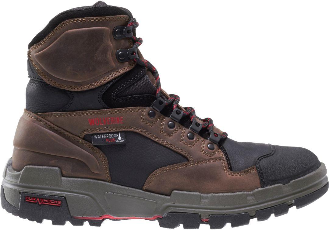 34b7ff6c1a2 Wolverine Men's Legend 6'' DuraShocks Composite Toe Work Boots ...