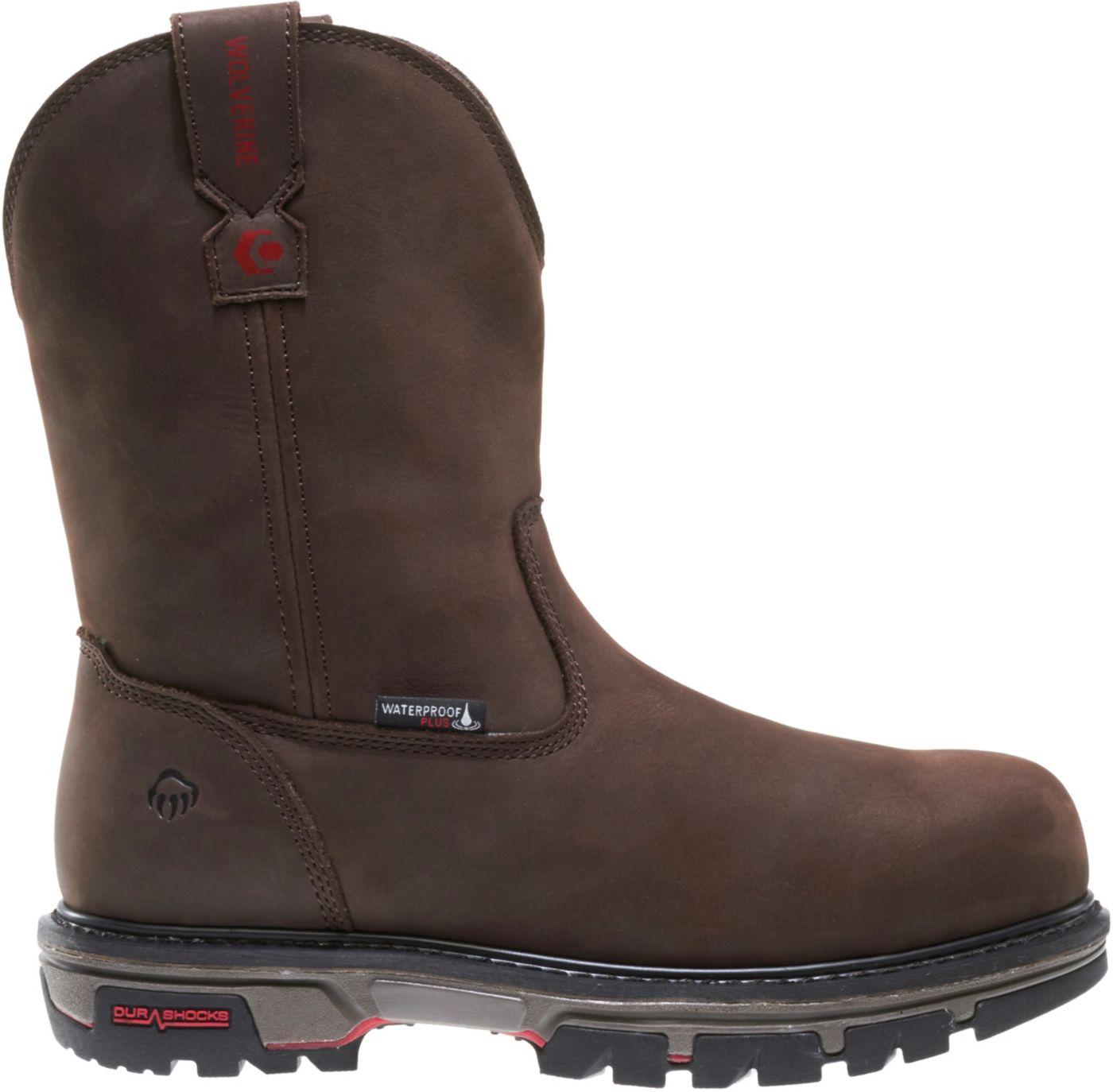 Wolverine Men's Nation 10'' Wellington Waterproof Composite Toe Work Boots