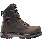 Wolverine Men's Nation 8'' DuraShocks Composite Toe Work Boots