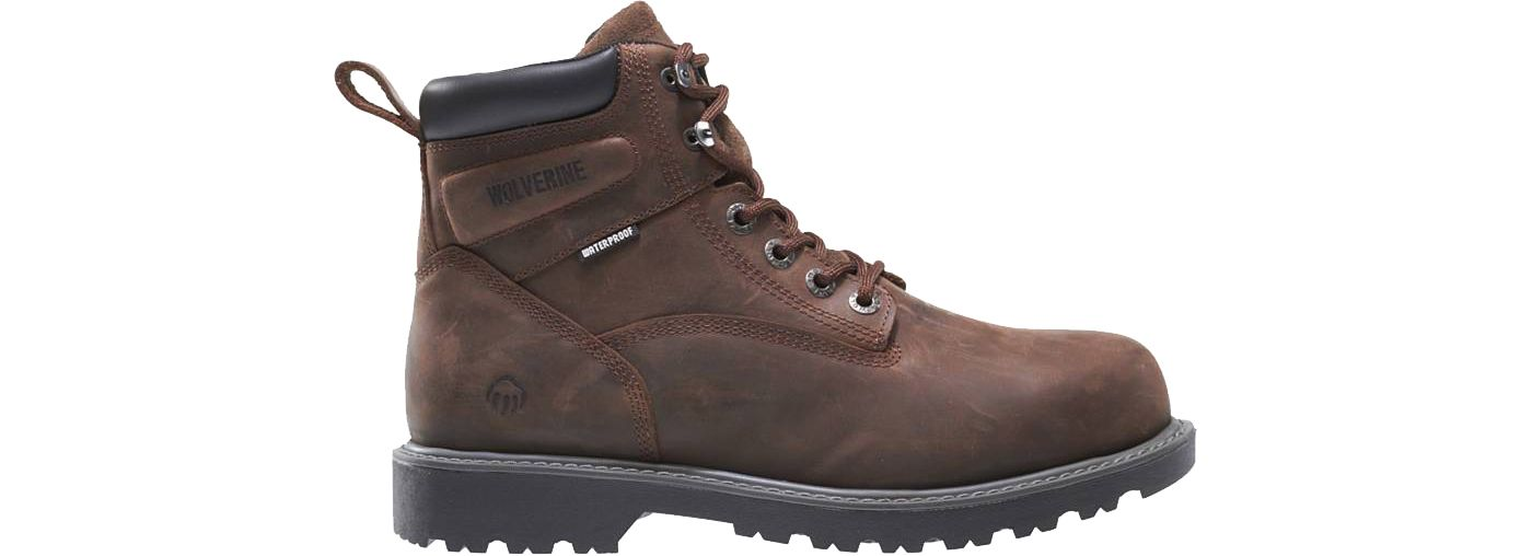Wolverine Women's Floorhand 6'' Waterproof Work Boots