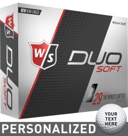 Wilson Staff Duo Soft Personalized Golf Balls