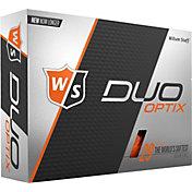 Wilson Staff Duo Soft Optix Orange Golf Balls
